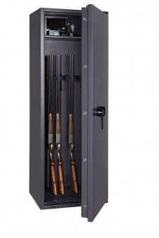 Waffenschrank Gun Safe N 1-8 (1498x508x418mm) Klasse N/0 , 8 Waffenhalter
