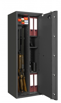 waffenschrank gun safe 0 1 4c 1400x500x420mm klasse 0 4 waffenhalter regalteil. Black Bedroom Furniture Sets. Home Design Ideas