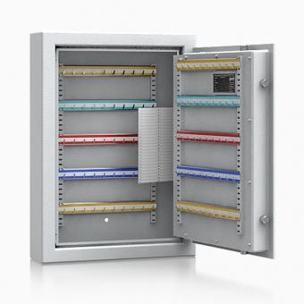 Schlüsseltresor SD100HS Klasse S1 EN 14450 mit 100 Haken für 100 Schlüssel