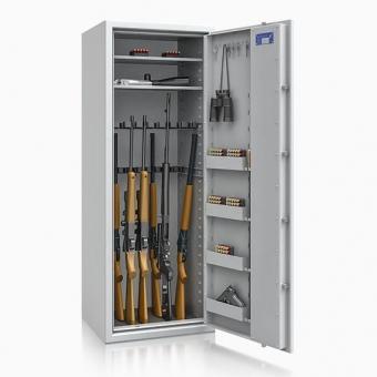 Waffenschrank 55633 Luzern (1600x600x500mm) Klasse 0 , 18 Waffenhalter