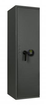 Waffenschrank EN 1143-1 Klasse 0 mit biometrischem Fingerprint Schloss 5 Waffenhalter