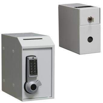 Einwurftresor Kassenbox Cashbox (250x142x250mm) mit Elektronikschloss