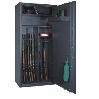 Waffenschrank Format Cervo V Multi-Set (1800x850x550mm) VdS Klasse I , 14 Waffenhalter , inkl. Trennwand und Staufächern zur Selbstmontage