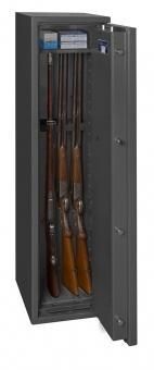 Waffenschrank Klasse 0 nach EN 1143-1 mit 4 Waffenhaltern