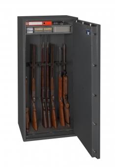 Waffenschrank Gun Safe N 1-10 (1550x650x420mm) Klasse N/0 , 10 Waffenhalter