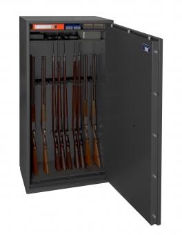 Waffenschrank Gun Safe N 1-14 (1548x848x418mm) Klasse 0 für 14 Langwaffen