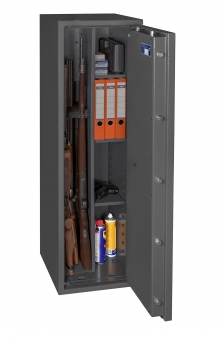 Waffenschrank Gun Safe 1 1-3C (1400x400x420mm) Klasse 1 , 3 Waffenhalter - Regalteil