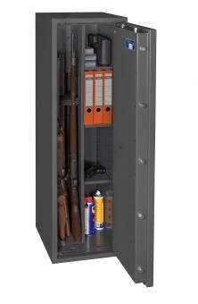 Waffenschrank Gun Safe 0 1-3C (1400x400x420mm) Klasse 0 , 3 Waffenhalter - Regalteil