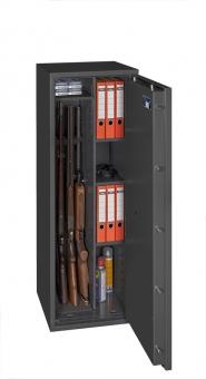 Waffenschrank Gun Safe 0 1-4C (1400x500x420mm) Klasse 0 , 4 Waffenhalter - Regalteil
