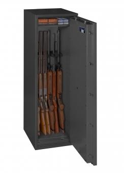 Waffenschrank Gun Safe 1-5 (1400x400x420mm) Klasse 1 , 6 Waffenhalter