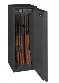 Waffenschrank Gun Safe N 1-8 (1400x500x420mm) Klasse N/0 , 8 Waffenhalter