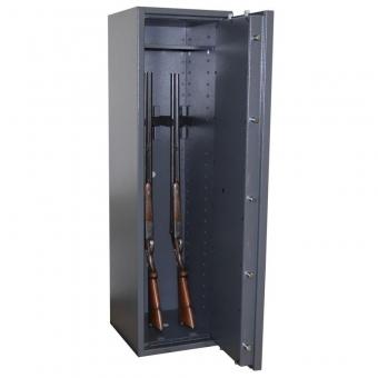 Waffenschrank Gun Safe 1-5 (1400x400x420mm) Klasse 1 , 5 Waffenhalter
