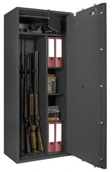 Waffenschrank Gun Safe 0 1-5 Kombi mit Regalteil EN 1143-1 Klasse 0