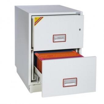 Hängeregistraturschrank Phoenix Excel Firefile FS2242E (805x530x675mm) 2 Schubladen, Elektronikschloss