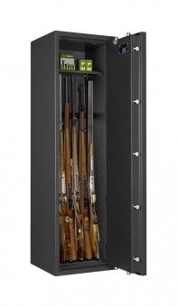 Waffenschrank Jäger 0-6 (1400x400x420mm) Klasse 0 , 6 Waffenhalter