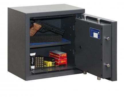 Kurzwaffentresor EN 1143-1 Klasse N/0 für Kurzwaffen und Munition mit Elektronikschloss