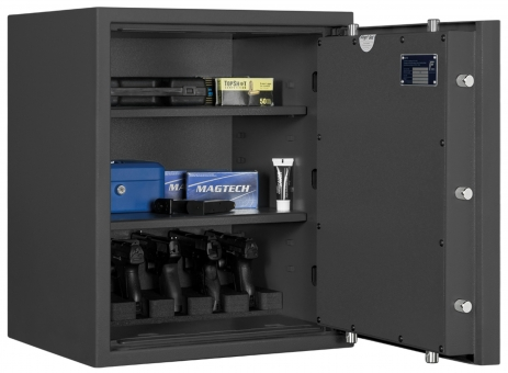 Kurzwaffentresor EN 1143-1 Grad 0 für Kurzwaffen und Munition Format KWT 3000