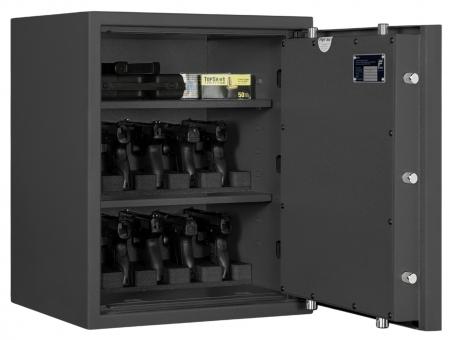 Kurzwaffentresor EN 1143-1 Klasse 1 für Kurzwaffen und Munition Format KWT 3100