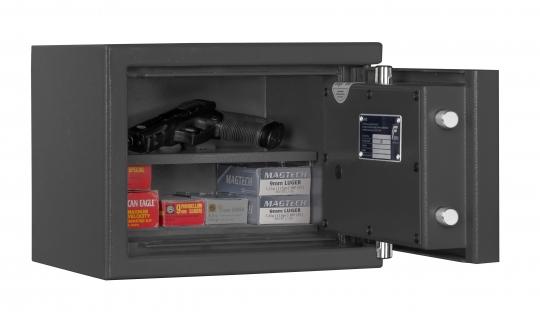 Kurzwaffenschrank KWT 800 Klasse 0 EN 1143-1 Grad 0 für Kurzwaffen und Munition - frei Haus