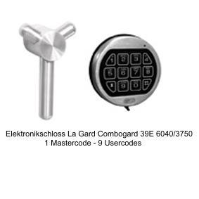 Elektronikschloss La Gard Combogard 39E 6040