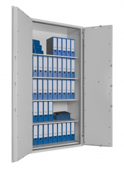 Feuerschutz Stahlbüroschrank Format SB Pro 80 für 50 Ordner DIN 4102