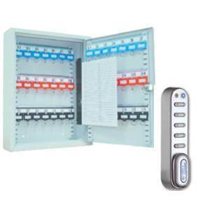 Schlüsselschrank SD21E (350x270x80mm) , 21 Haken , Elektronikschloss , versandkostenfrei