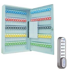 Schlüsselschrank SD50E (550x380x80mm) , 50 Haken , Elektronikschloss , versandkostenfrei