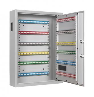 Schlüsselschrank Format SLE 120 mit Elektronikschloss und Einwurfschlitz für 120 Schlüssel