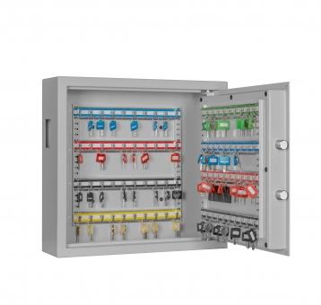 Schlüsselschrank Format SLE 80 mit Elektronikschloss und Einwurfschlitz für 80 Schlüssel