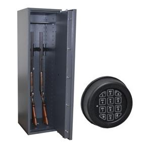waffenschrank gun safe 0 5 1400x400x420mm klasse 0 5 waffenhalter zahlenschloss. Black Bedroom Furniture Sets. Home Design Ideas