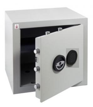 Wertschutzschrank Sistec EM2 (450x450x400mm) EN 1143-1 Klasse I , Elektronikschloss