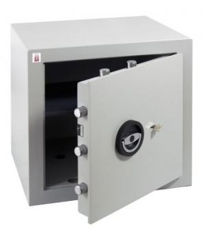 Wertschutzschrank Sistec EM2S (450x450x400mm) EN 1143-1 Klasse I , Schlüsselschloss