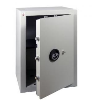 Wertschutzschrank Sistec EM4S (690x450x400mm) EN 1143-1 Klasse I , Schlüsselschloss