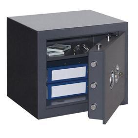 Wertschutzschrank SecuritySafe 1-38  (436x496x410mm) Klasse 1