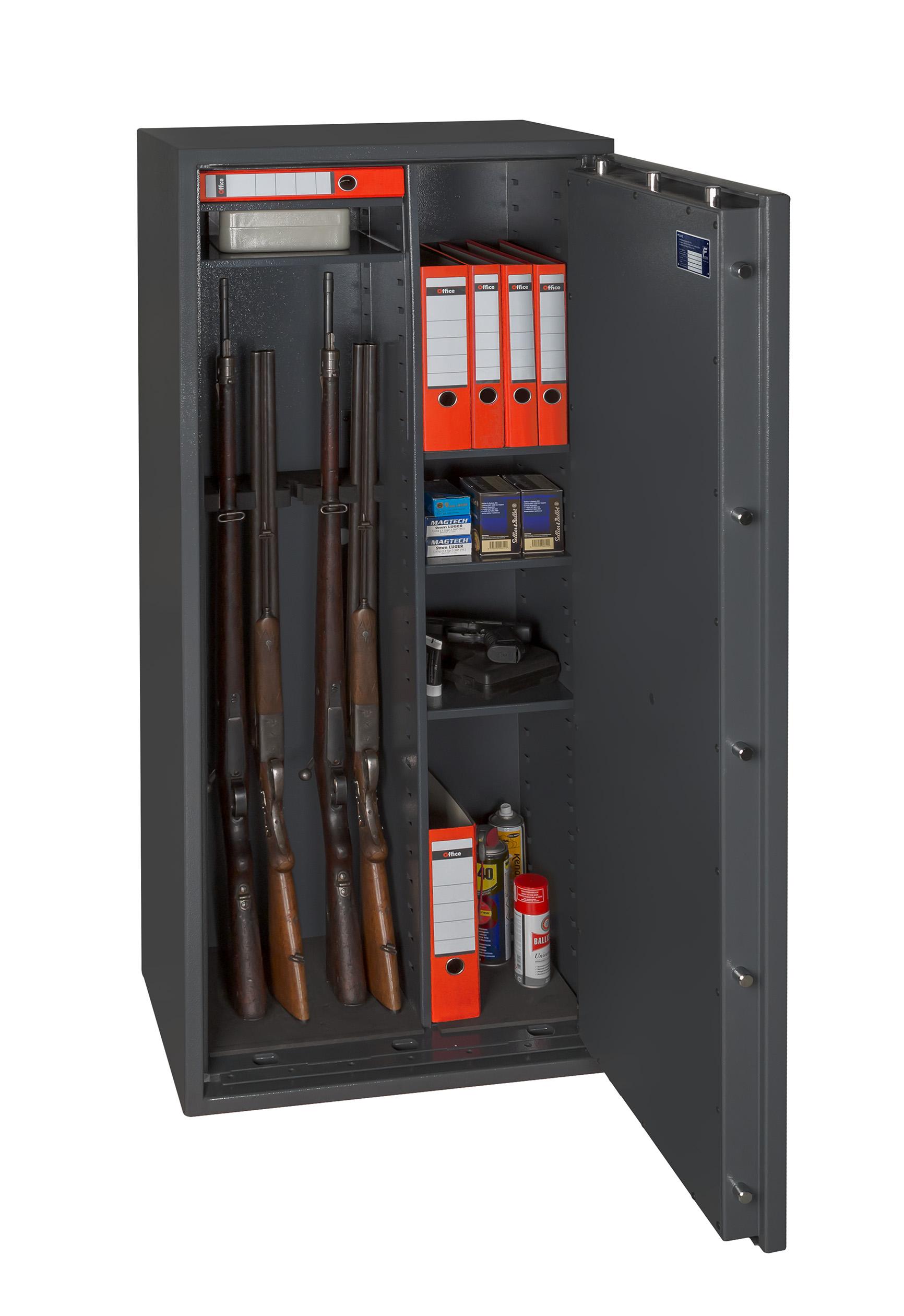 Waffenschrank Gun Safe 1-6 Kombi | Melsmetall.de