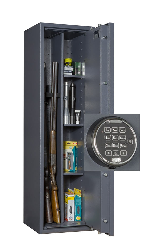 waffenschrank gun safe 1 1 3c elo 1400x400x420mm klasse. Black Bedroom Furniture Sets. Home Design Ideas