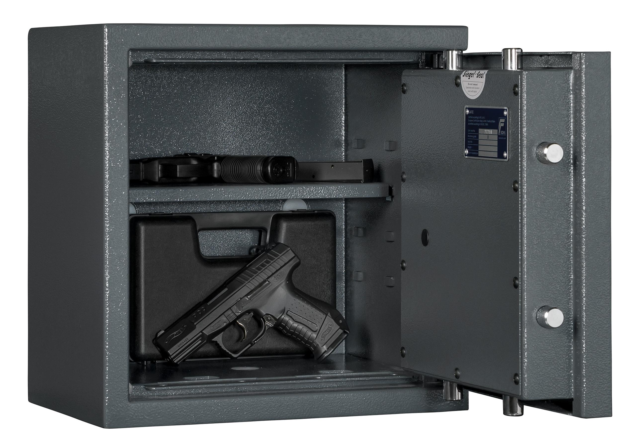 Kurzwaffentresor KWT 1000 EN 1143-1 Klasse N/0 für Kurzwaffen und ...