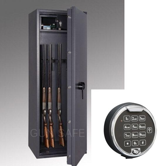 waffenschrank gun safe n 1 8 elo 1498x508x418mm klasse n 0 8 waffenhalter. Black Bedroom Furniture Sets. Home Design Ideas