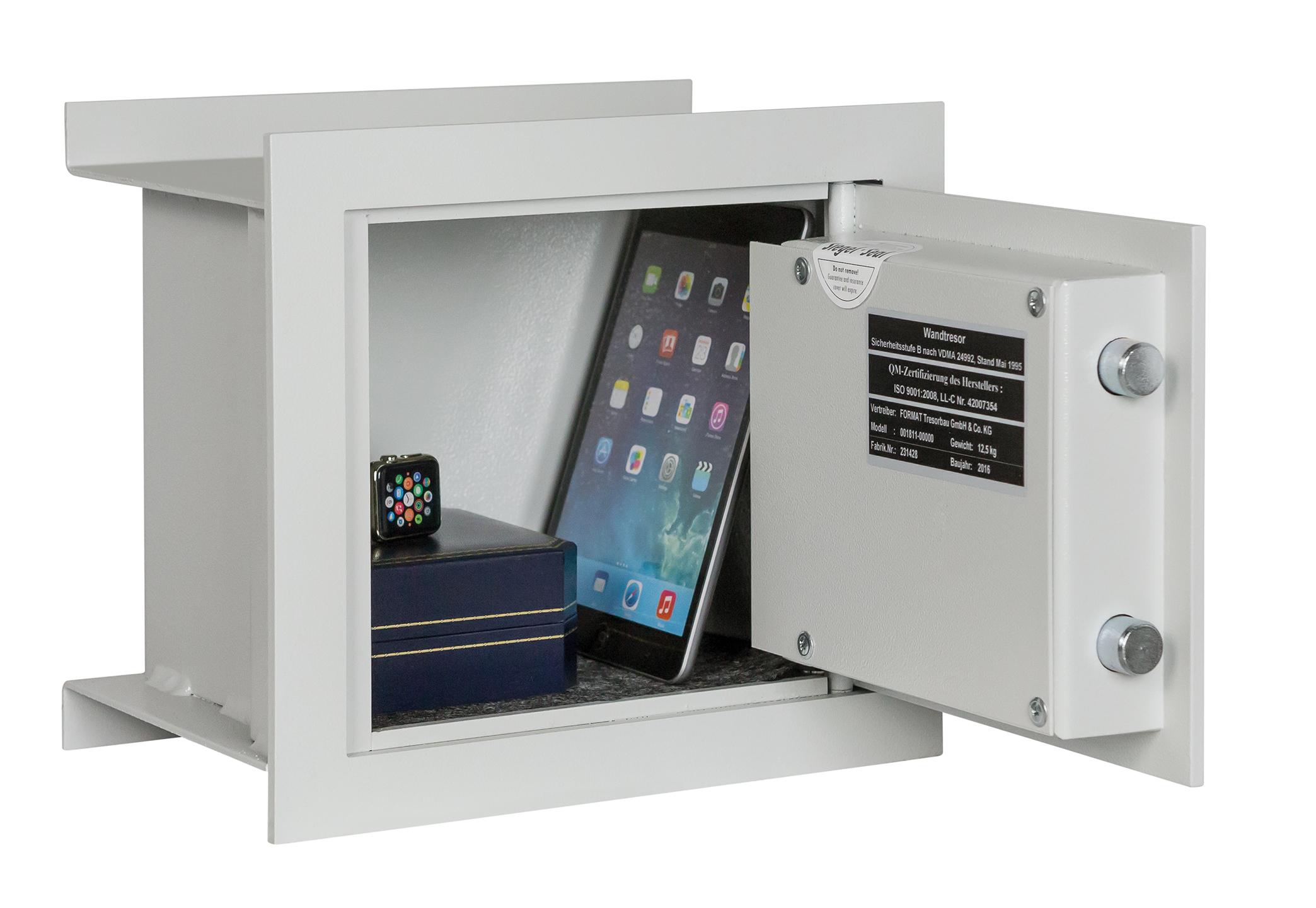 Wandtresor Format WB 2 (266x300x200mm) Sicherheitsstufe B , frei ...