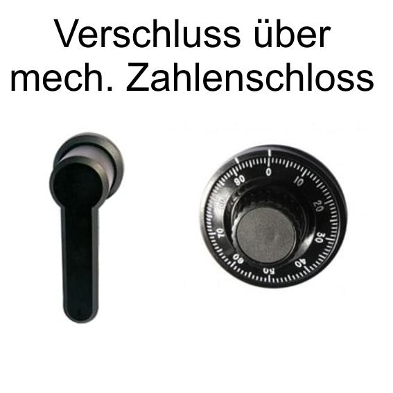 Mechanisches Zahlenschloss +140 EUR 760,00 €