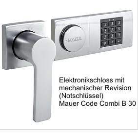 Elektronikschloss Mauer CCB30 mit Notschlüssel + 329 EUR ab  1.773,00 €