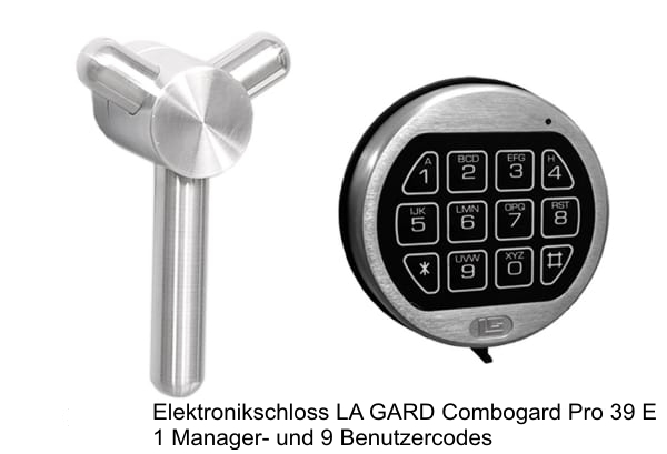 Elektronikschloss LG Combogard 39E + 249 EUR 1.713,00 €