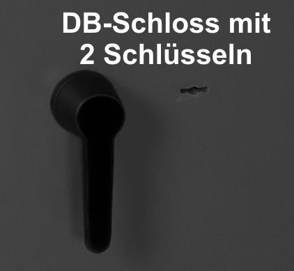 Doppelbart-Schloss inkl. 2 Schlüssel 734,00 €