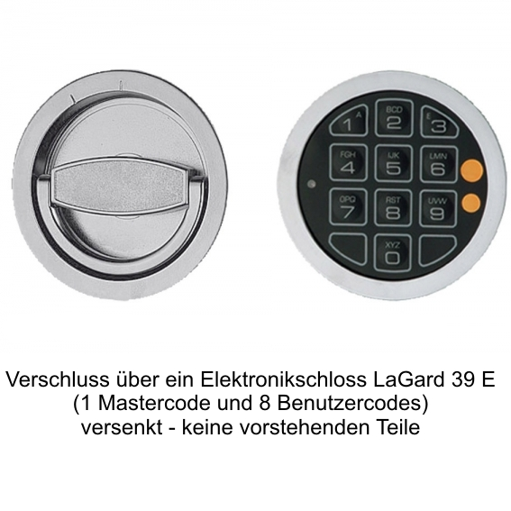 Elektronikschloss LG Swingbold 39E + 249 EUR 608,00 €