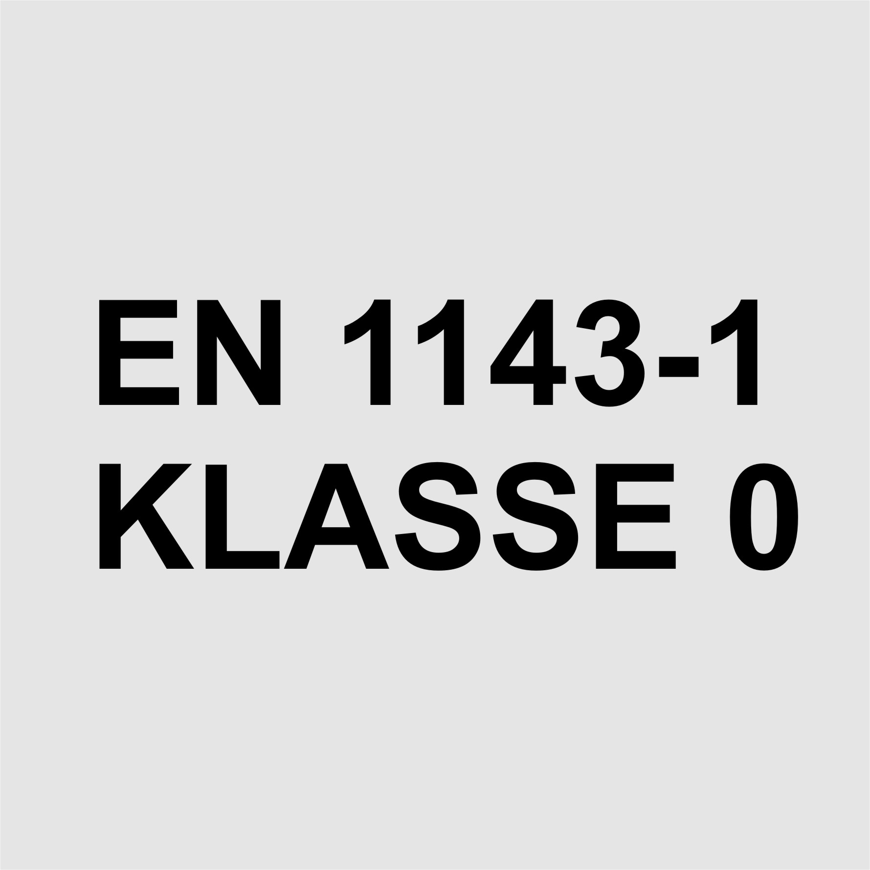 Klasse 0 nach EN 1143-1 1.344,00 €