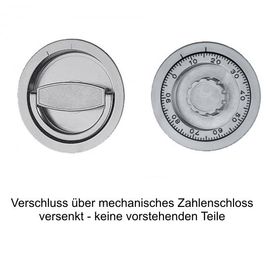 mech. Zahlenschloss + 139 EUR 498,00 €