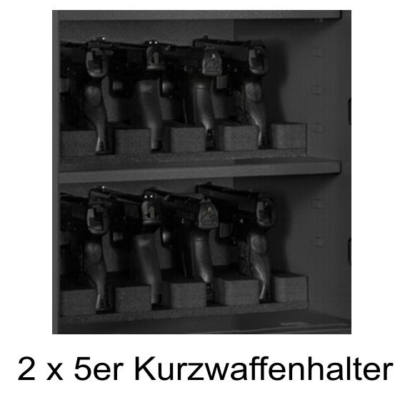 mit Kurzwaffenhalter für 2 x 5 KW ab  733,00 €